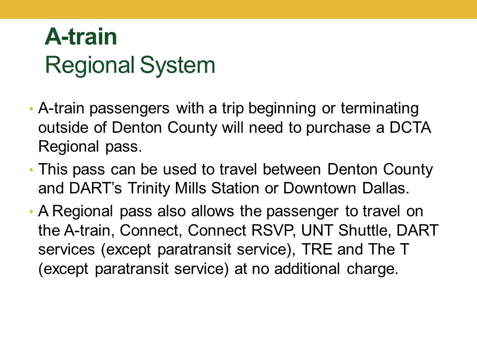 DCTA Contact Information DCTA Website – www.RideDCTA.netwww.RideDCTA.net DCTA Customer Service - 940-243-0077 (Available Monday through Saturday from 6 AM to 8 PM) TWU Student Union – 940-898-3641 TWU Commuter Services – 940-898-2789
