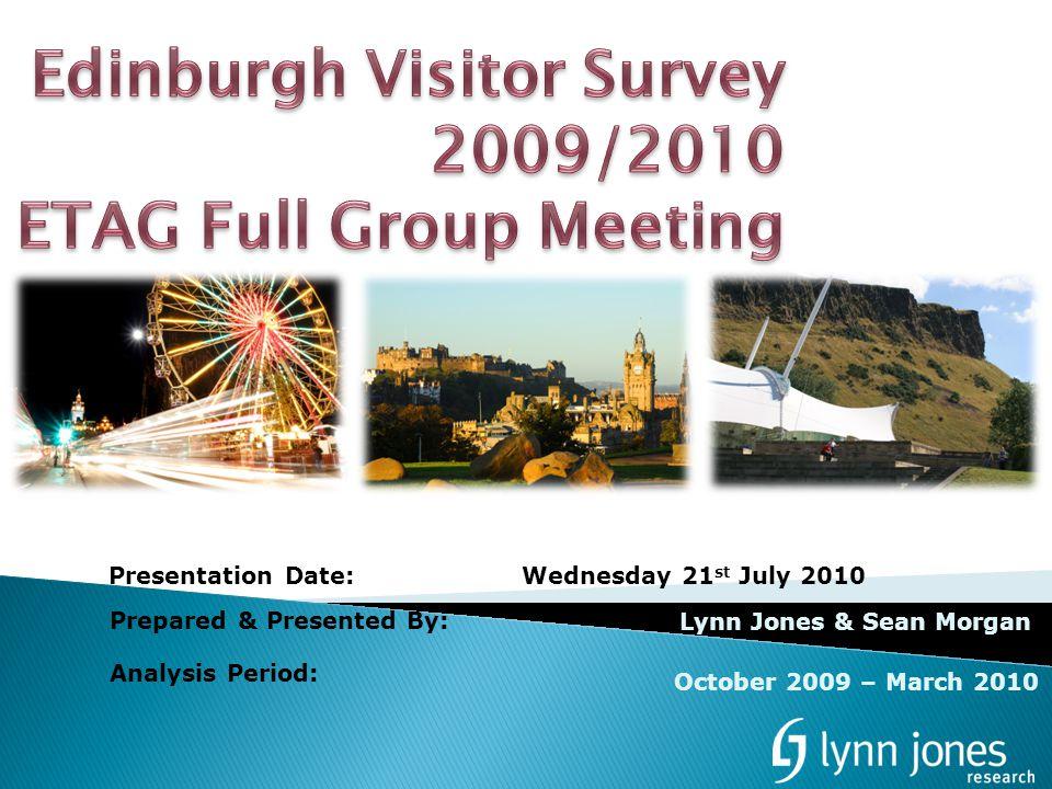 Prepared & Presented By: Lynn Jones & Sean Morgan Presentation Date:Wednesday 21 st July 2010 Analysis Period: October 2009 – March 2010