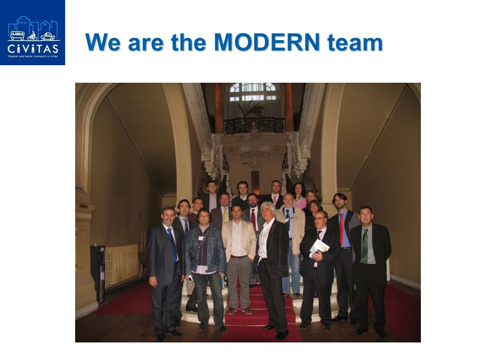 We are the MODERN team