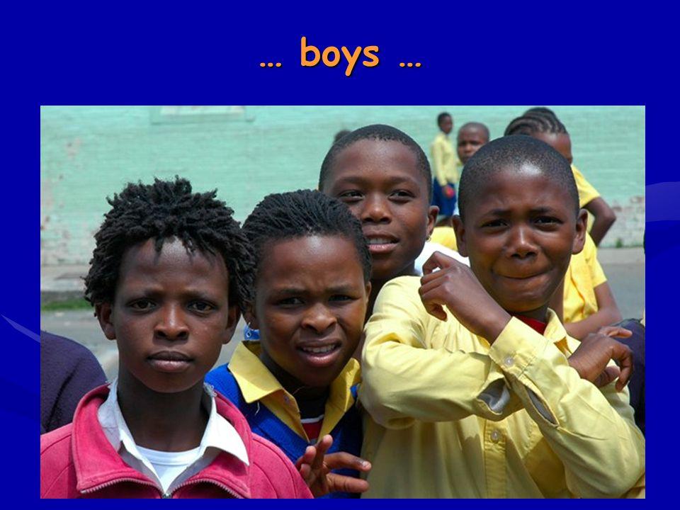 … boys …
