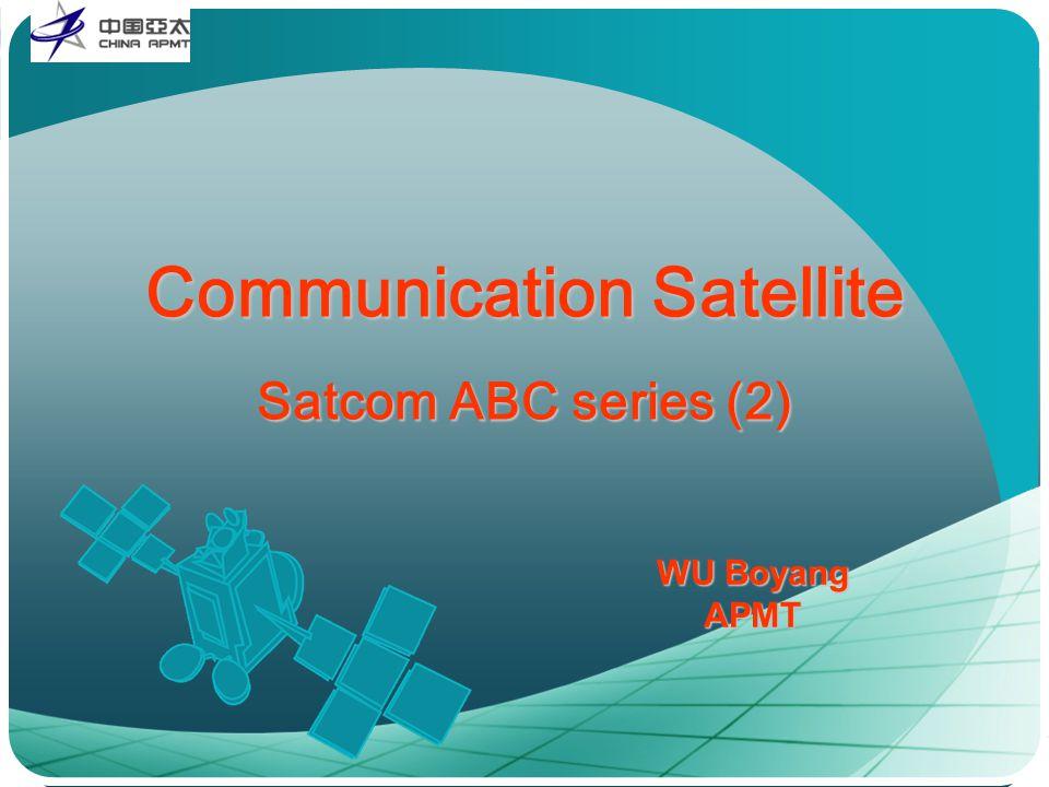 WU Boyang APMT Communication Satellite Satcom ABC series (2)