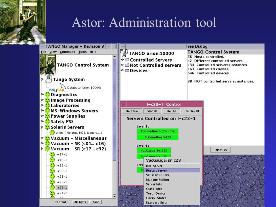 Astor: Administration tool