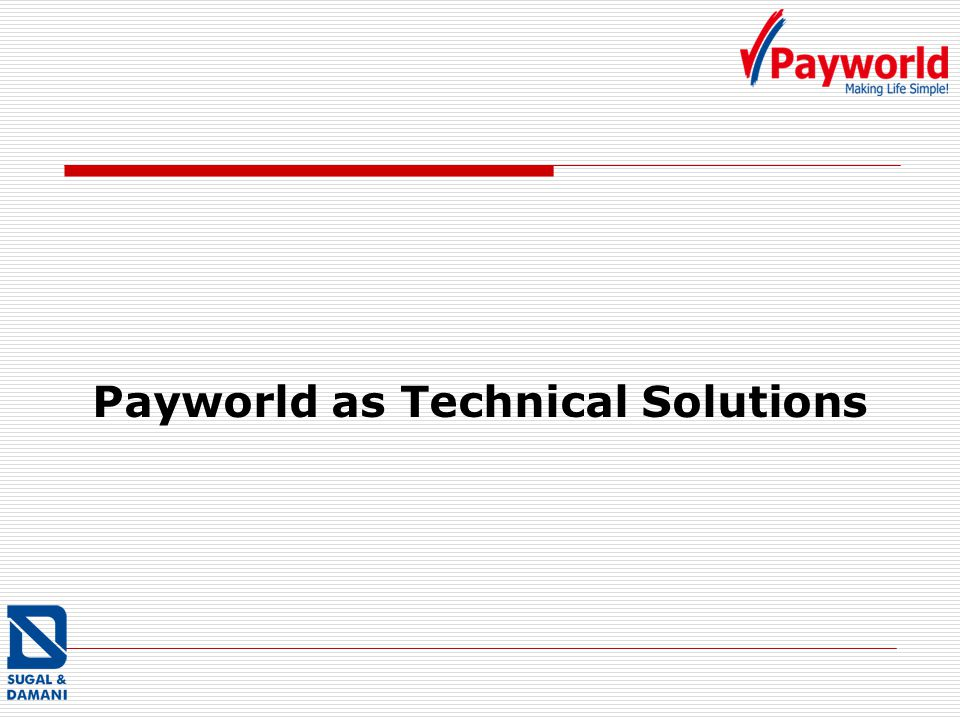 Payworld as Technical Solutions