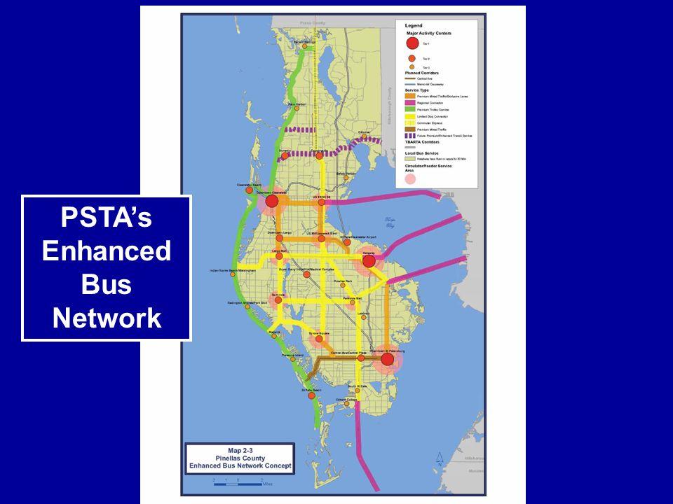 PSTAs Enhanced Bus Network