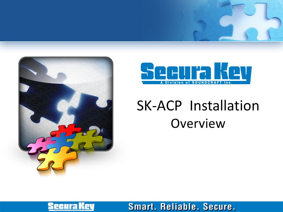 SK-ACP Installation Overview
