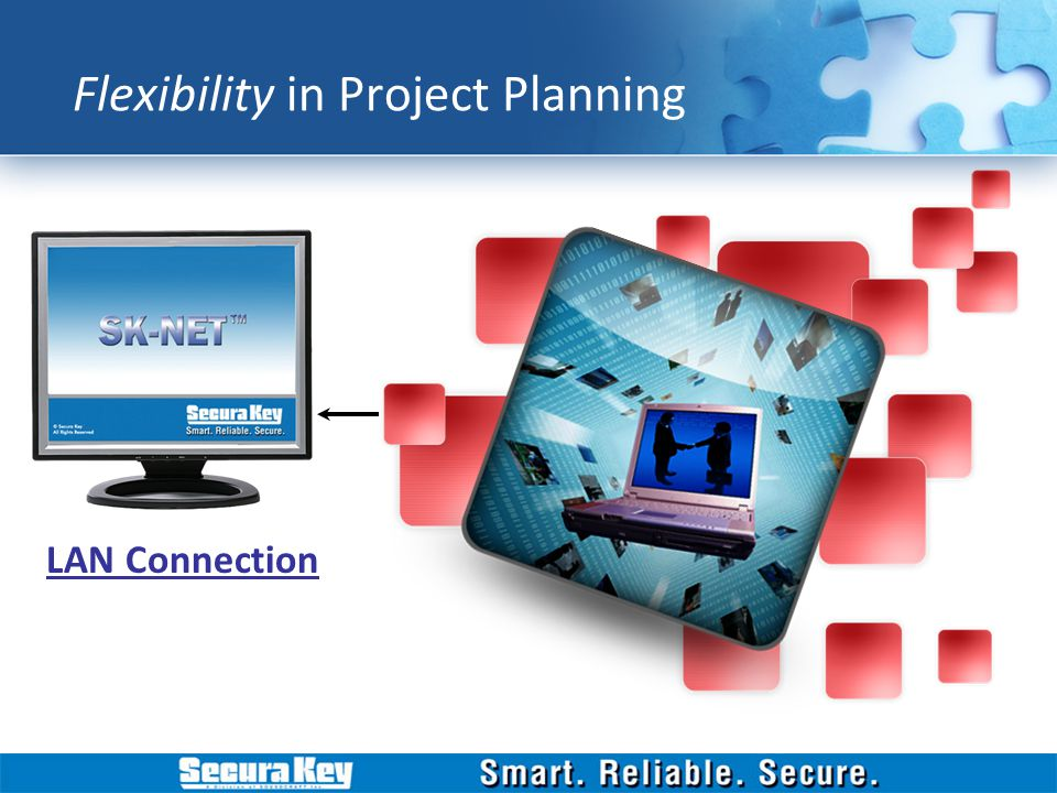 LAN Connection Flexibility in Project Planning