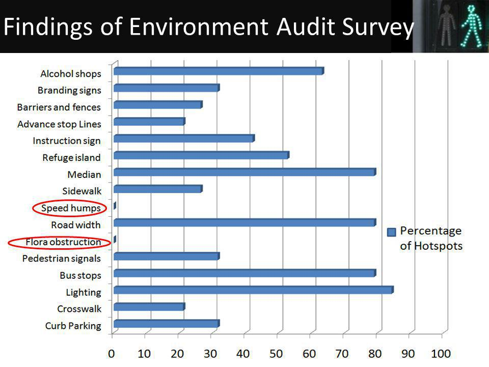 33 Findings of Environment Audit Survey