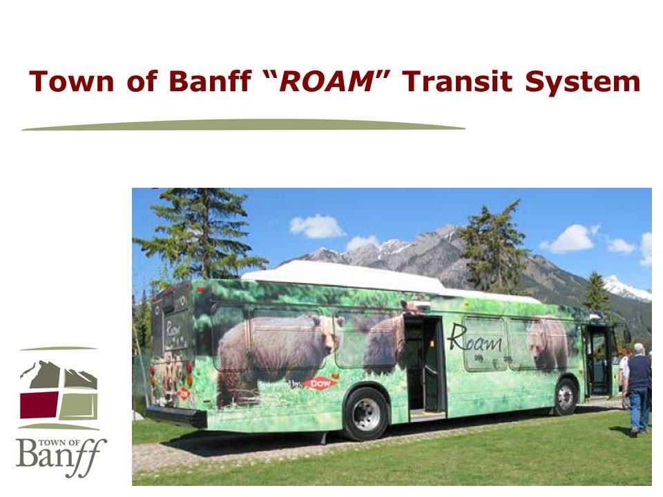 Town of Banff ROAM Transit System