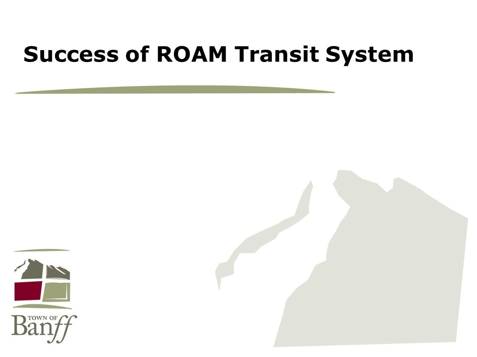 Success of ROAM Transit System