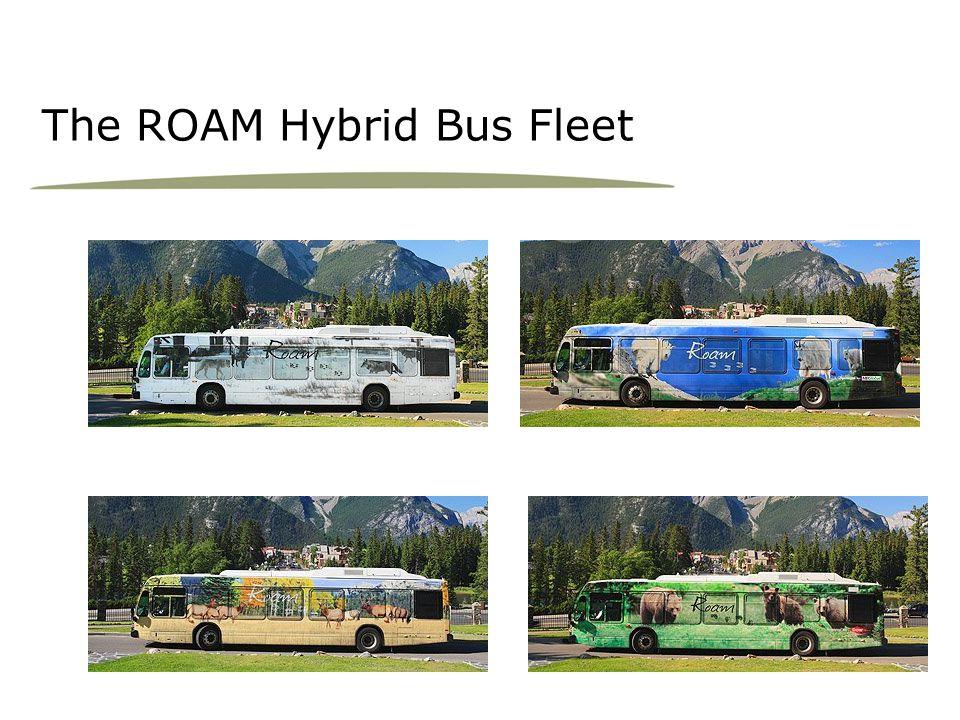 The ROAM Hybrid Bus Fleet
