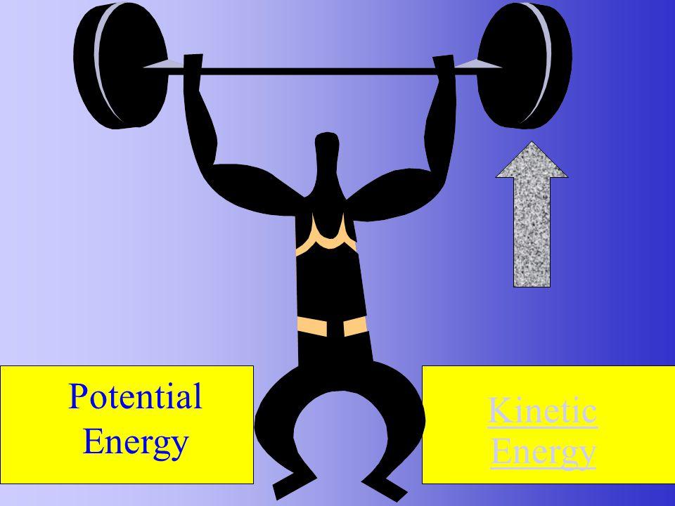 Potential Energy Kinetic Energy