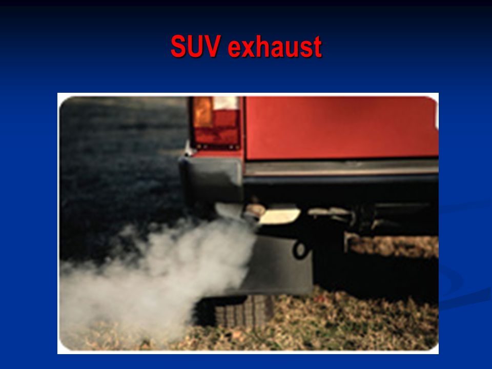 SUV exhaust