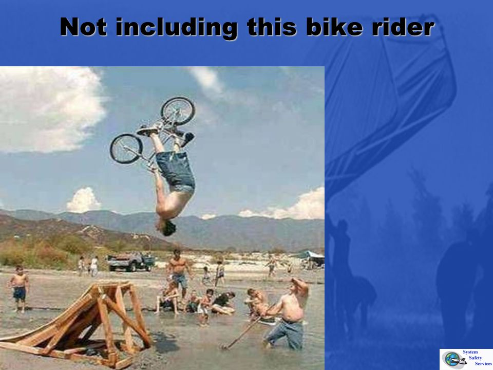 Not including this bike rider