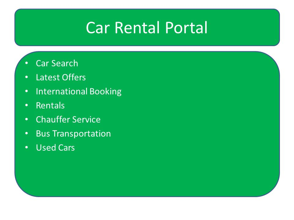 Car Rental Portal Car Search Latest Offers International Booking Rentals Chauffer Service Bus Transportation Used Cars