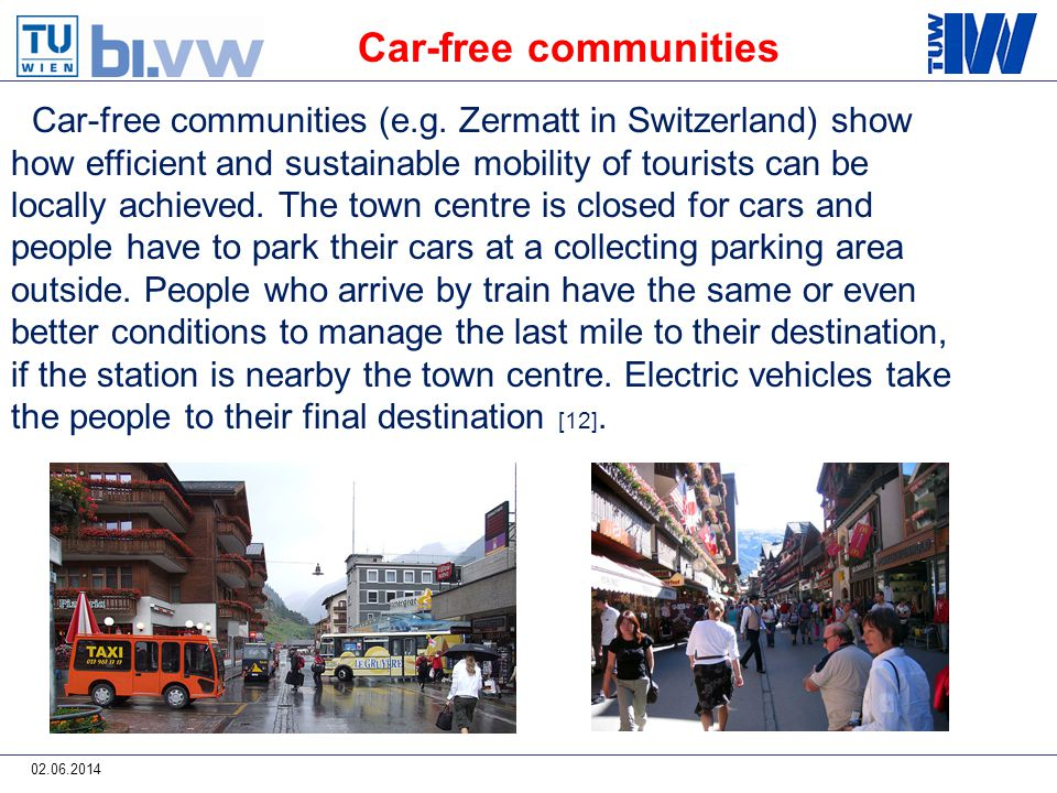 02.06.2014 Car-free communities (e.g.