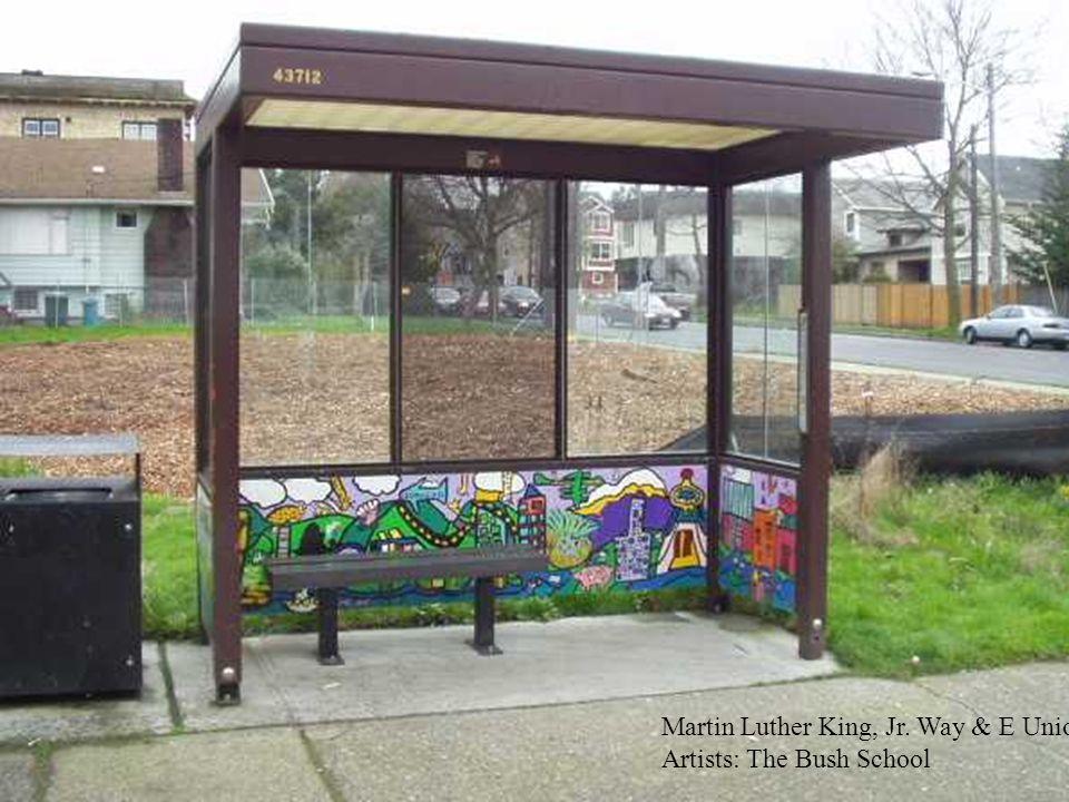 Martin Luther King, Jr. Way S & S Graham St. Artists: AKI Kurose Middle School