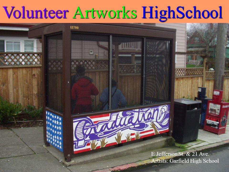 E John St. &22 Ave E Artists: Meany Middle School