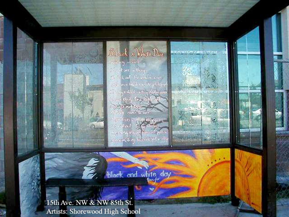 E Jefferson St. & 21 Ave. Artists: Garfield High School Volunteer Artworks HighSchool