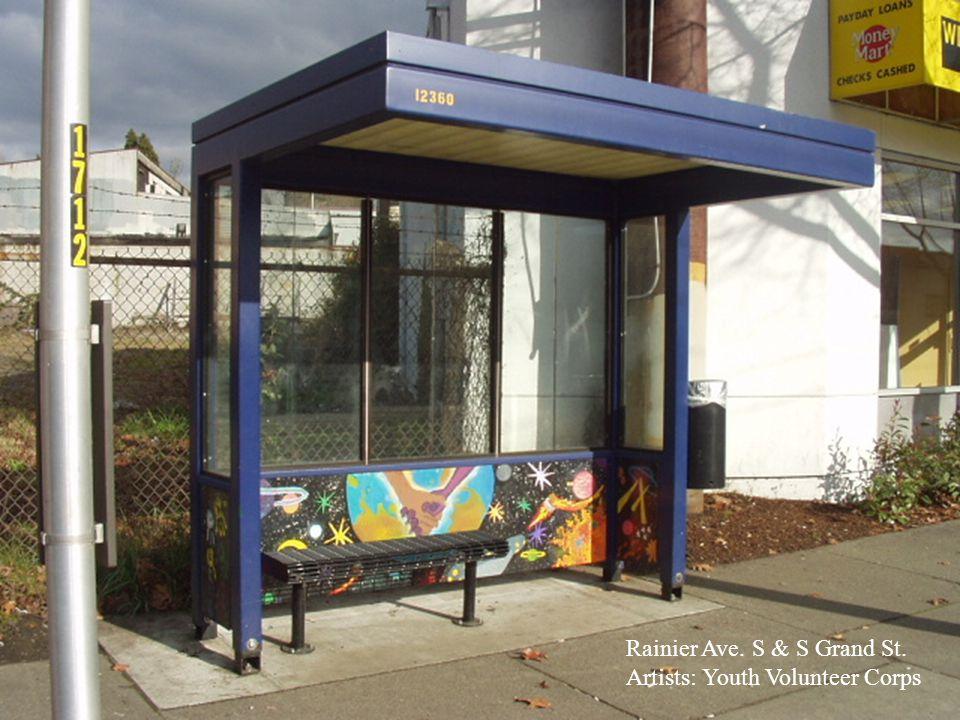 Ravenna Ave. NE & NE 90th St. Artists: University Prep School