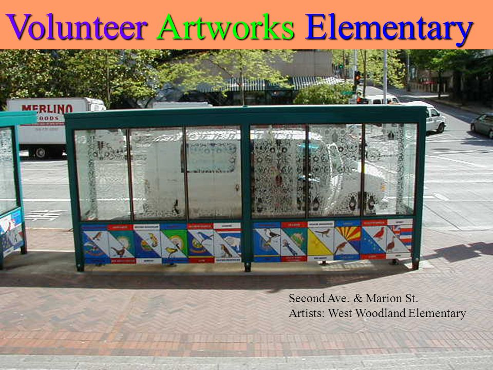 Western Ave. W & Elliot Ave. W Artist: Megan Burke