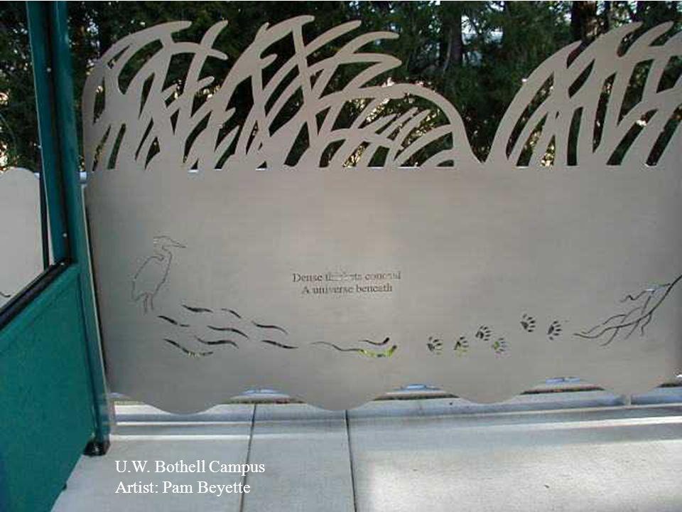 U.W. Bothell Campus Artist: Pam Beyette