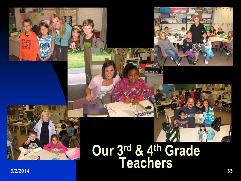 6/2/ Our 3 rd & 4 th Grade Teachers
