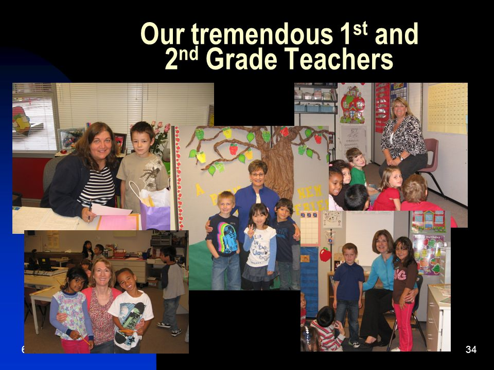 6/2/ Our tremendous 1 st and 2 nd Grade Teachers