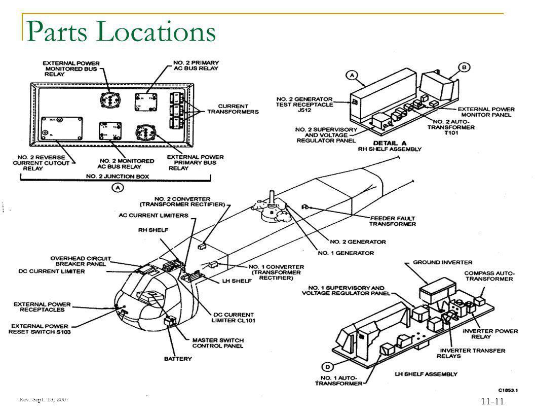 Rev. Sept. 18, 2007 11-11 Parts Locations