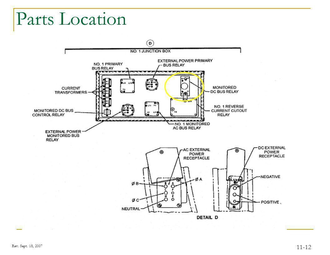Rev. Sept. 18, 2007 11-12 Parts Location