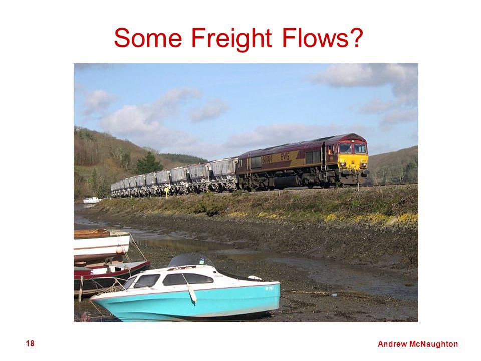 Andrew McNaughton 18 Some Freight Flows
