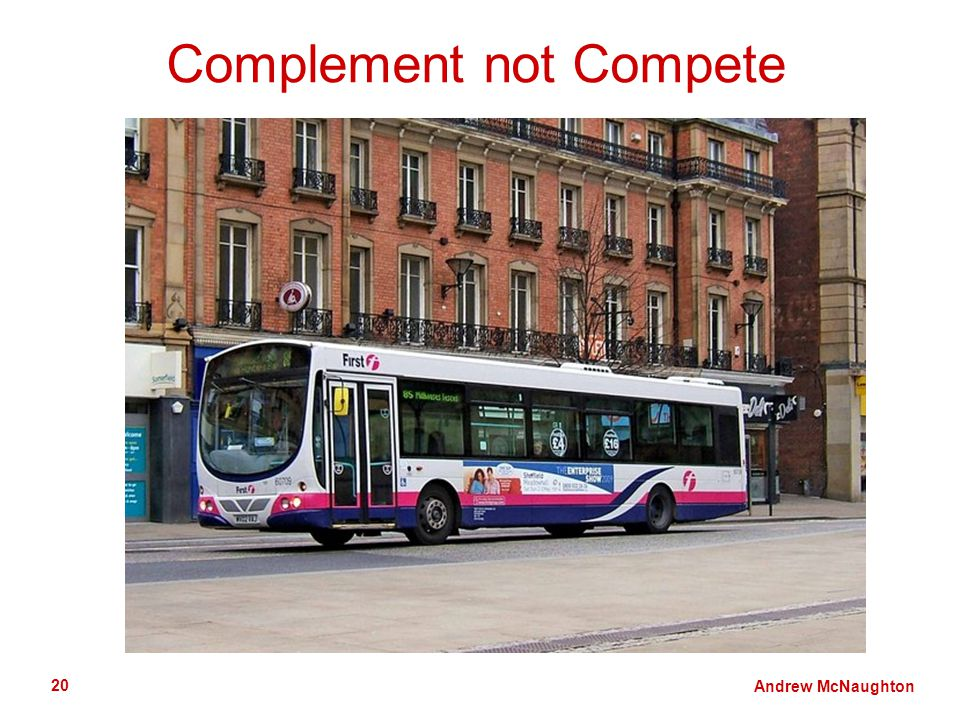 Andrew McNaughton 20 Complement not Compete