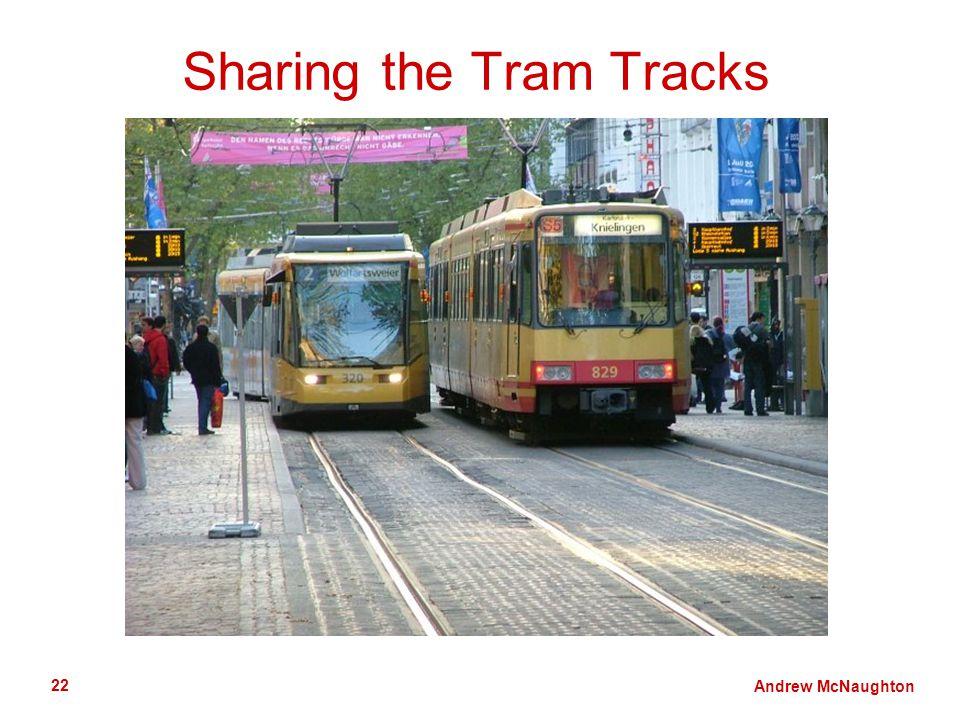 Andrew McNaughton 22 Sharing the Tram Tracks
