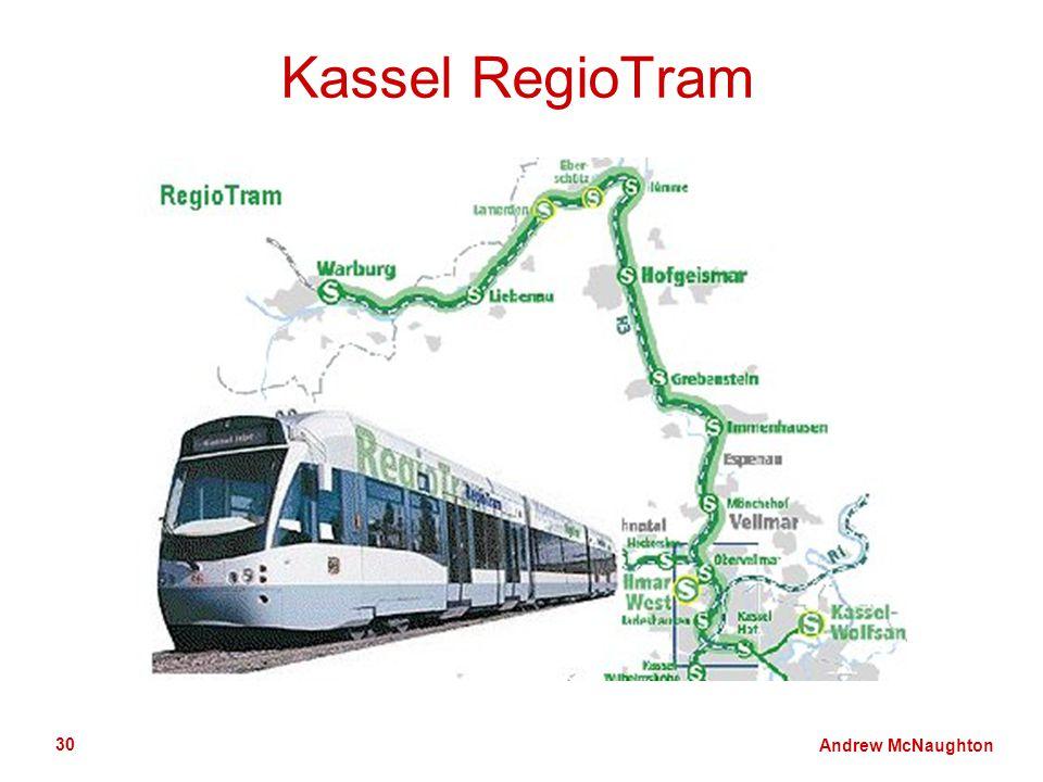 Andrew McNaughton 30 Kassel RegioTram