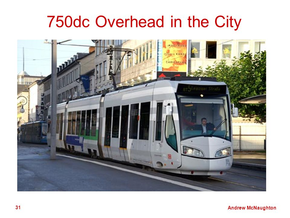 Andrew McNaughton 31 750dc Overhead in the City