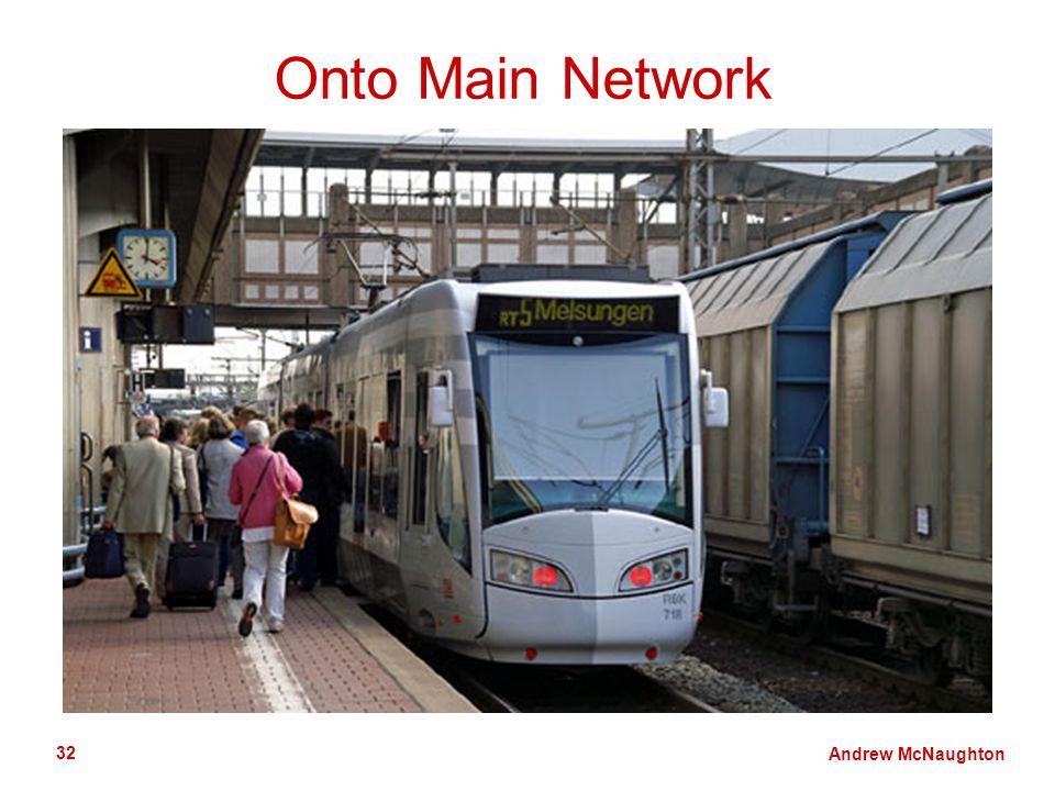 Andrew McNaughton 32 Onto Main Network