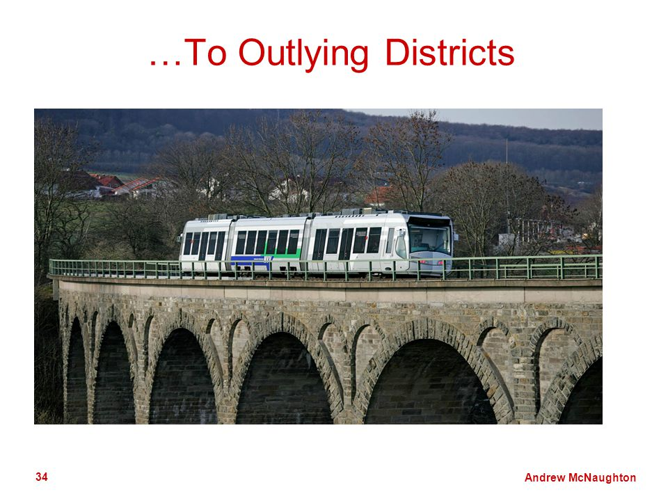 Andrew McNaughton 34 …To Outlying Districts