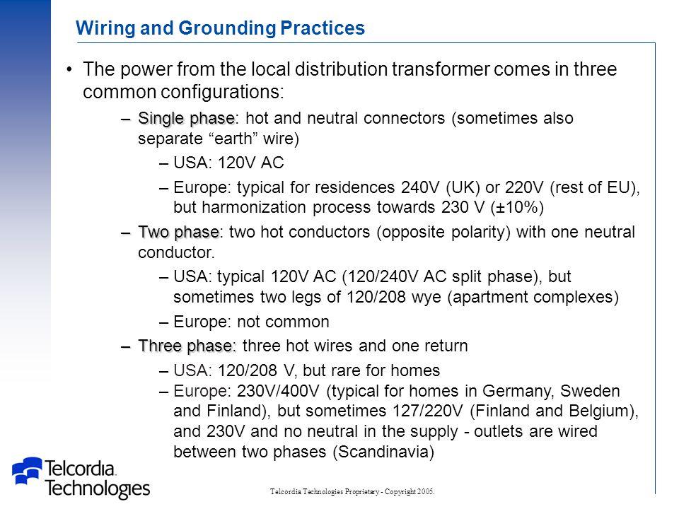 Telcordia Technologies Proprietary - Copyright 2005.