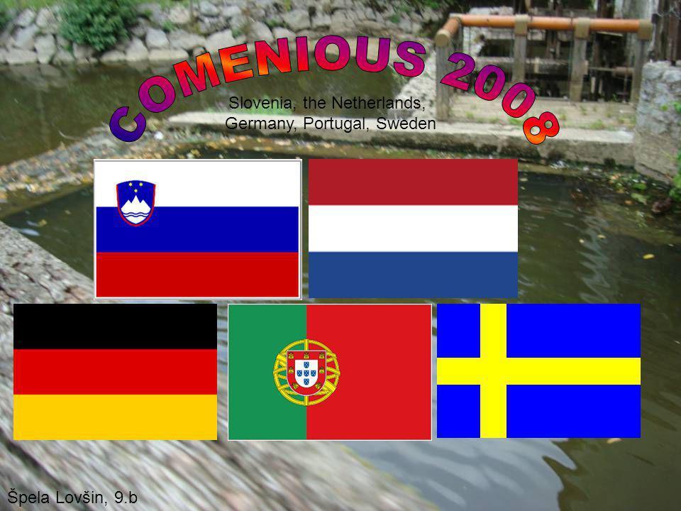 Slovenia, the Netherlands, Germany, Portugal, Sweden Špela Lovšin, 9.b