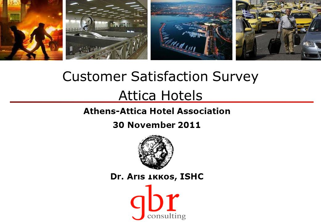 Tourism Barometer Forecasts of Athenian hoteliers for 2012 as a whole Source: GBR Consulting Tourism Barometer