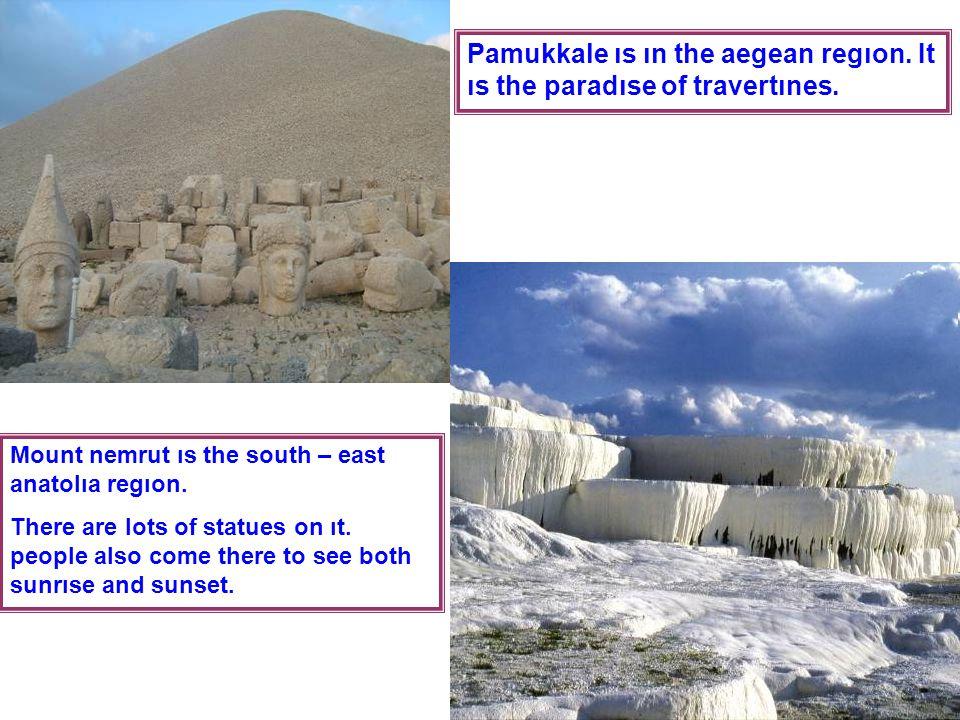 Every year we vısıt two ımportant places to show our gradıtute for our ancestors.