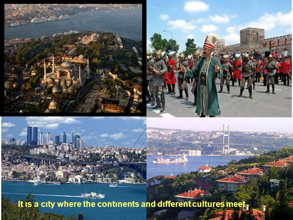 . The Blue Mosque and the maıden tower are just two attarctıve symbols of Istanbul.