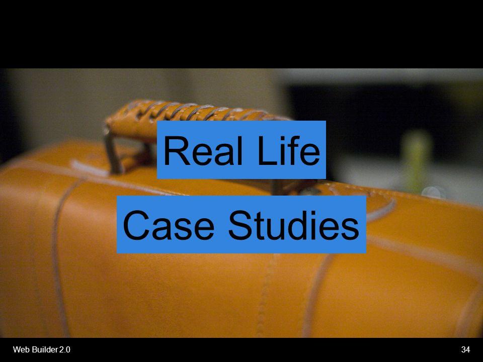 Web Builder 2.034 Real Life Case Studies