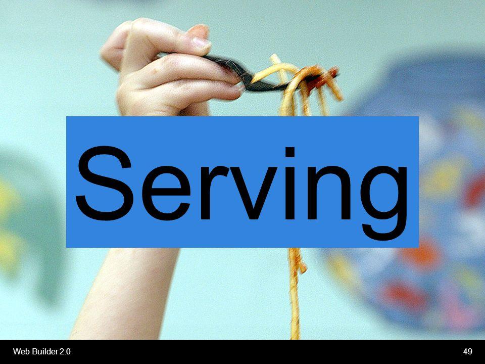 Web Builder 2.049 Serving