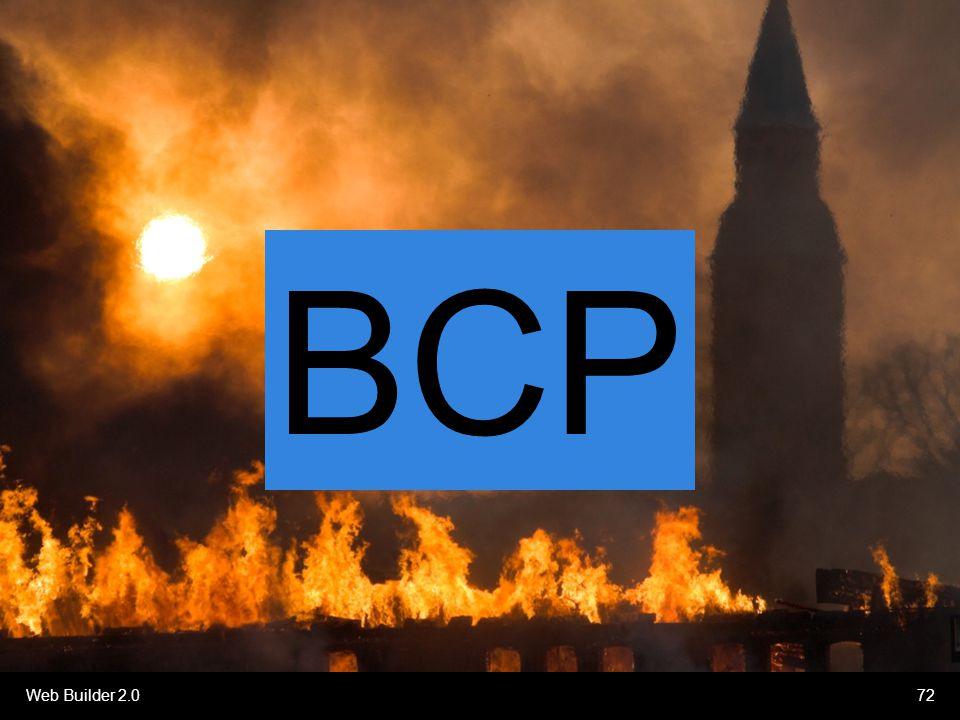 Web Builder 2.072 BCP