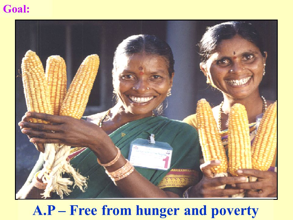 Goal: A.P – Free from hunger and poverty