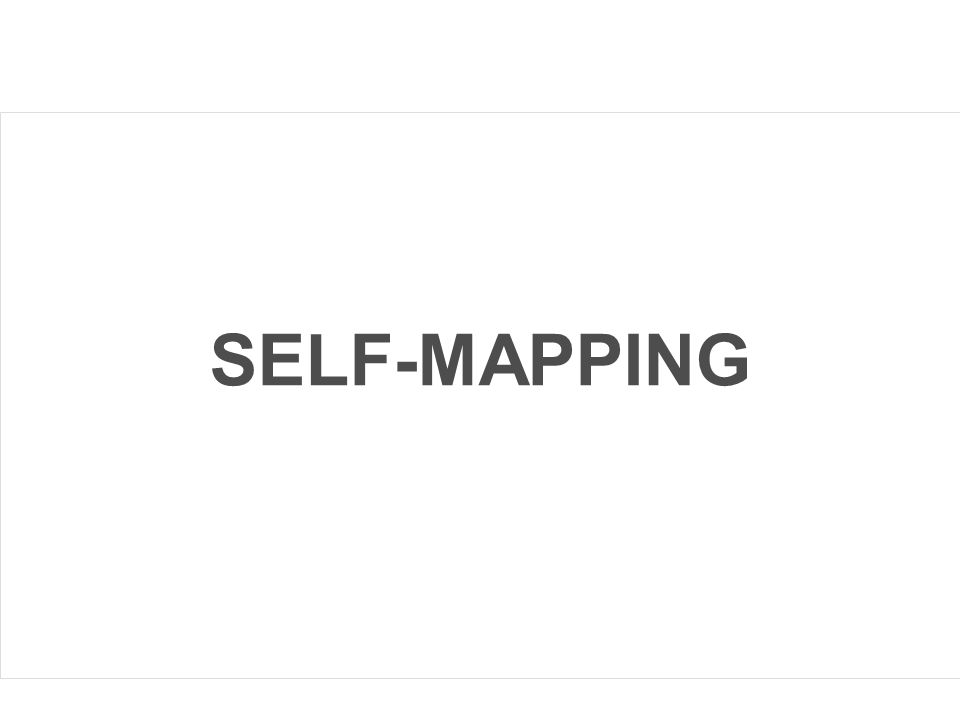 SELF-MAPPING
