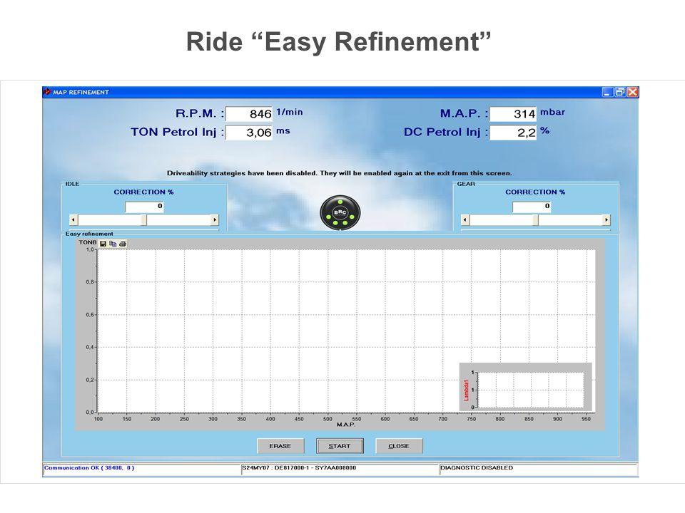 Ride Easy Refinement