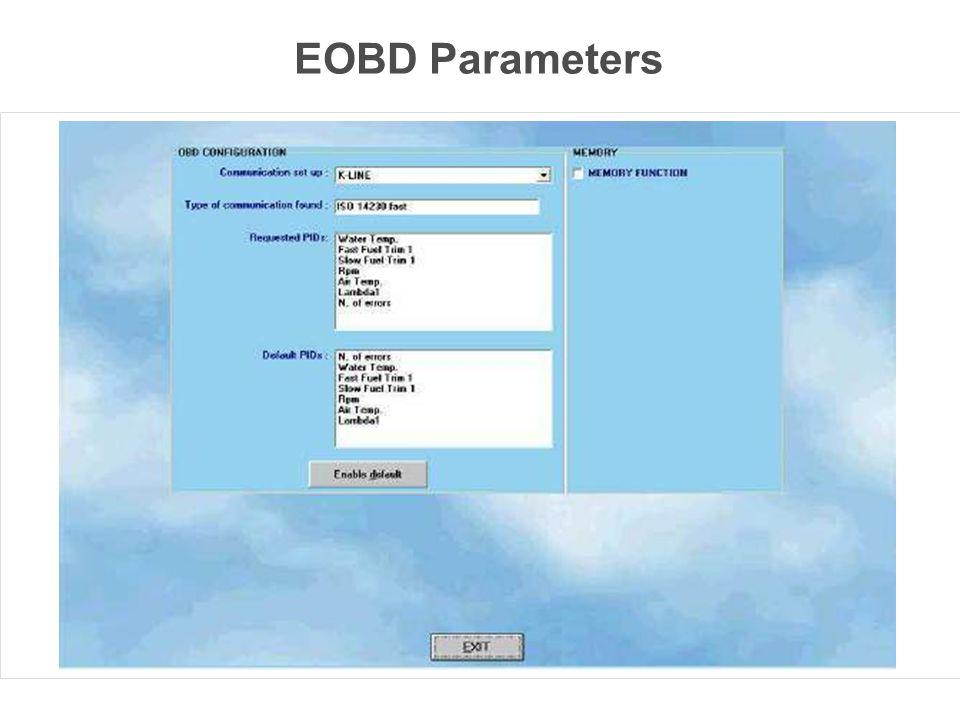 EOBD Parameters