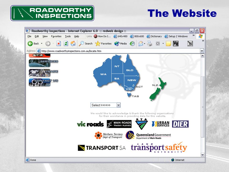 Services.. The Website