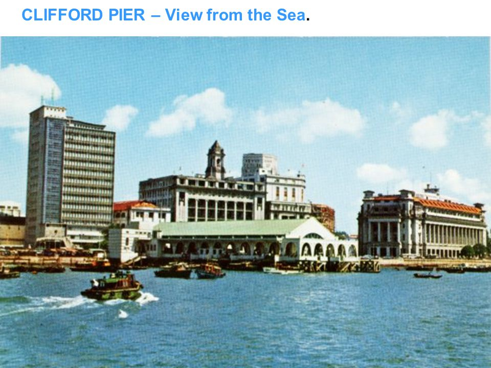 CLIFFORD PIER, just like Fisherman Wharf in San Fran?